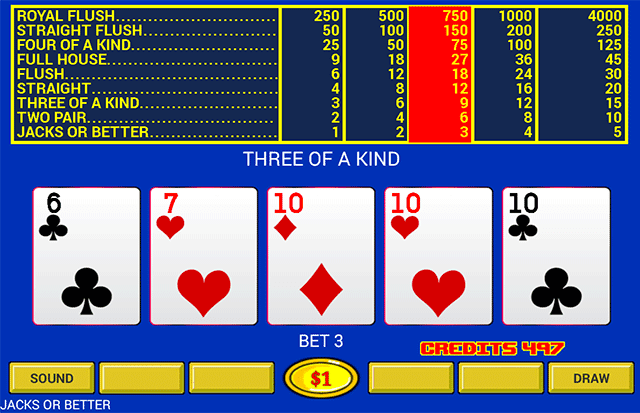 Video Poker - Original Games