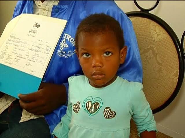 En San Juan: Padre solicita ayuda para operar del corazón a su hija de tres años