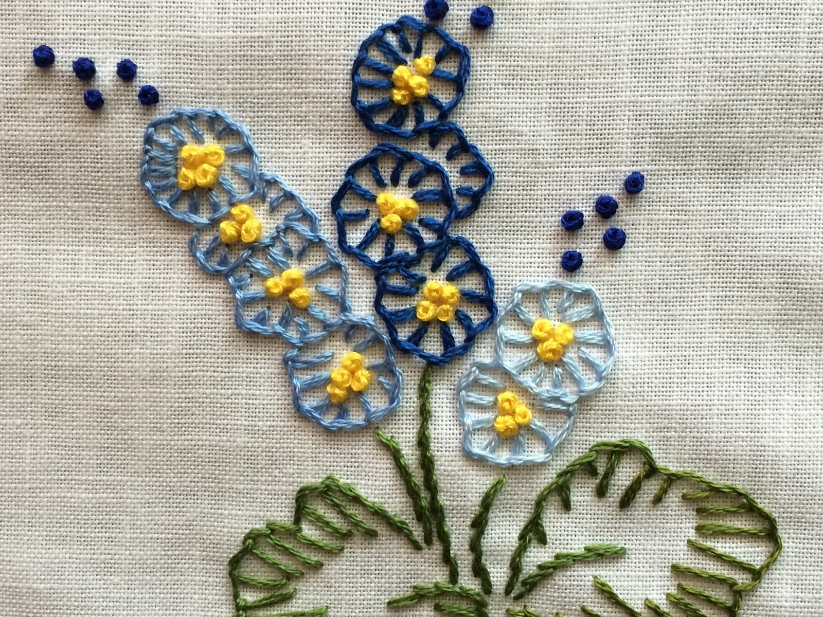 how to make buttonhole stitch