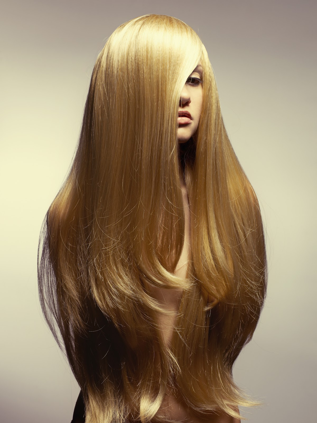 Extra Long Blonde Clip In Hair Extensions Triple Weft Hair Extensions