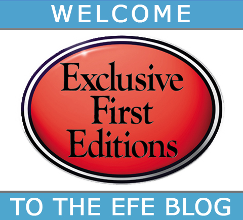 Welcome to the Exclusive First Editions News Blog