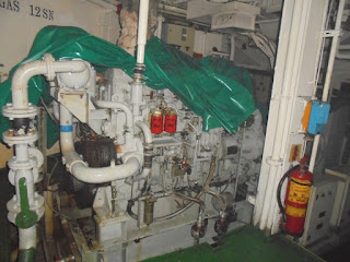 used, reconditioned, second hand, Mitsubishi auxiliary engine, for sale