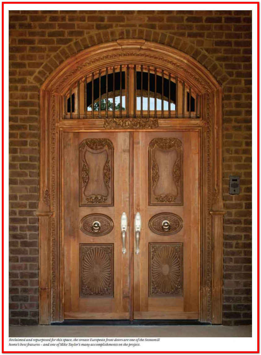Telugu web world beautiful stylish and costlier house for European exterior doors