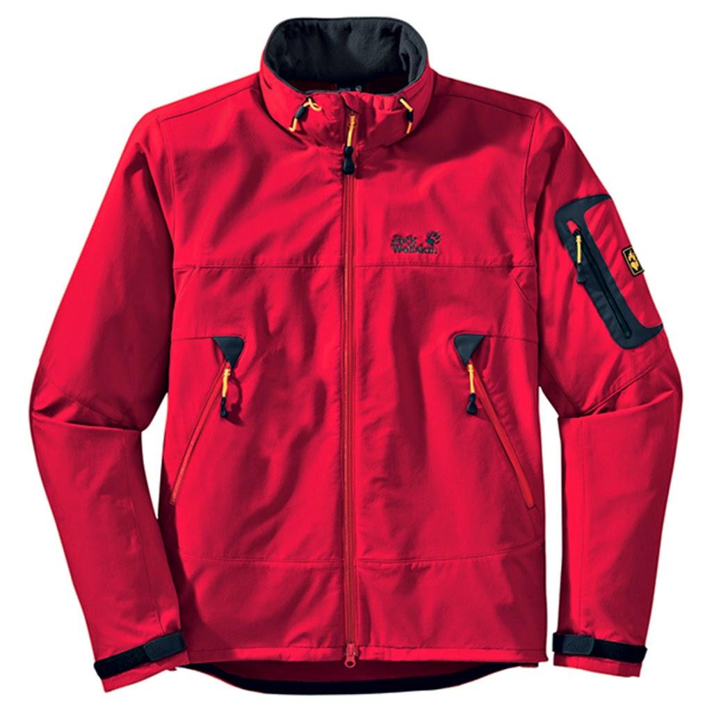 Jacket Jack Wolfskin Warna Merah