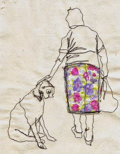Old Woman Dog by Sarah Walton