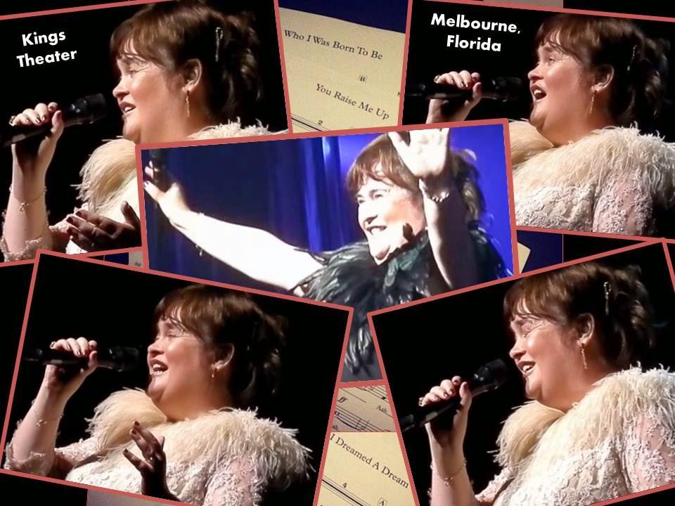 Susan Boyle,The King Center Melbourne, Fl.,  Nov 2, 2014