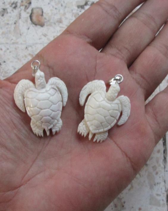 Turtle carved bone pendants bone pendants bone carving carved bone turtle carved bone pendants aloadofball Gallery