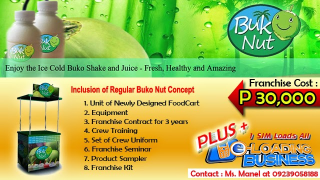 Foodcart For Franchise - A Buko Shake Food Concept Offered in the Philippines.