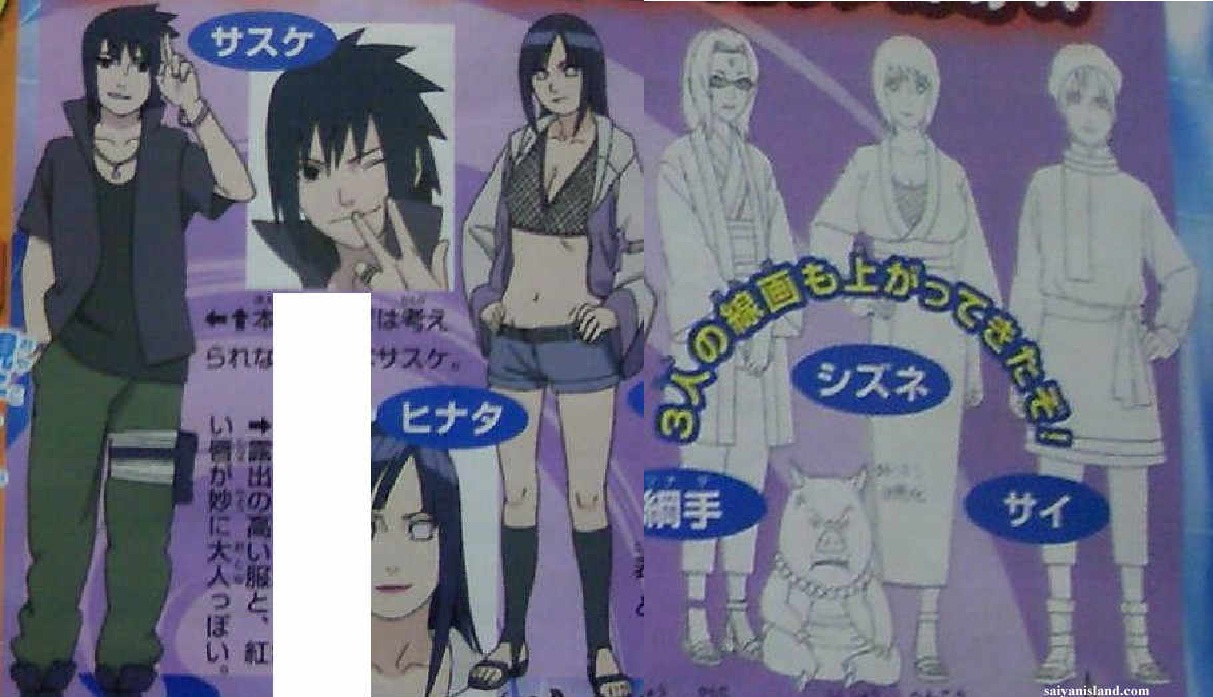 Naruto Last Movie Character Designs