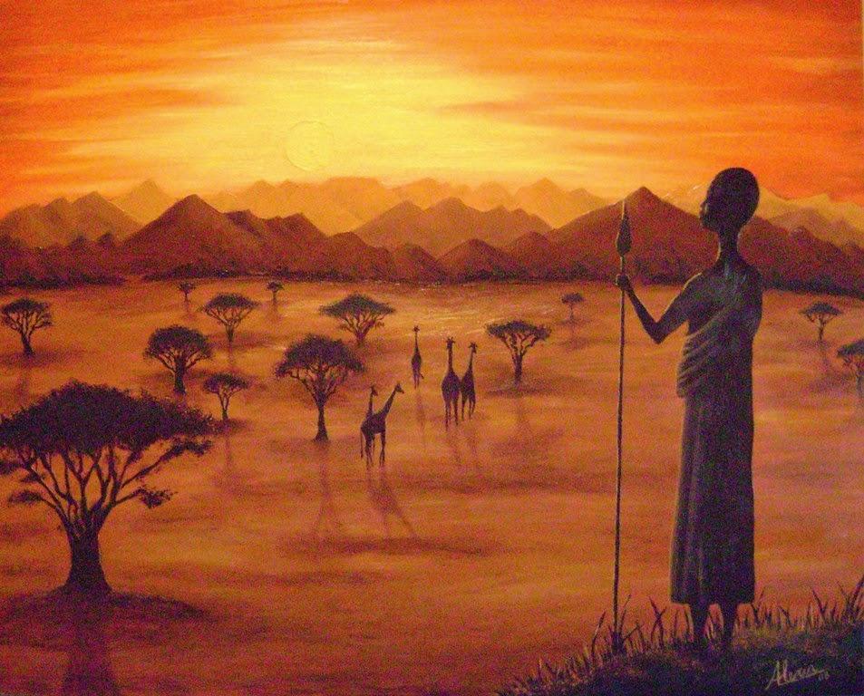 pinturas-africanas-al-oleo
