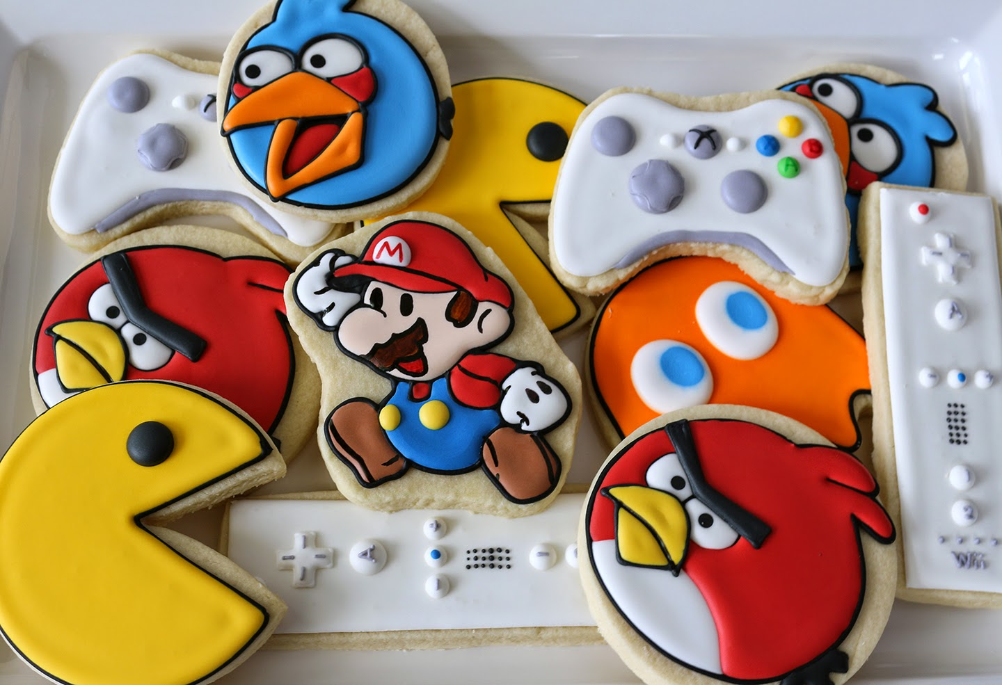 video game cookies