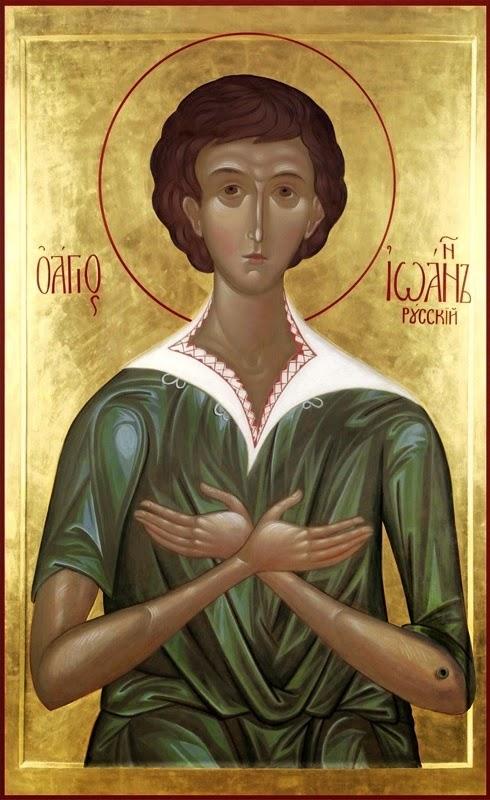 Azi 27 mai praznuirea Sfantului Ioan Rusul !