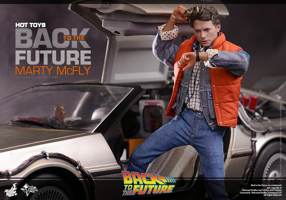 Marty McFly Action Figure Hot Toys