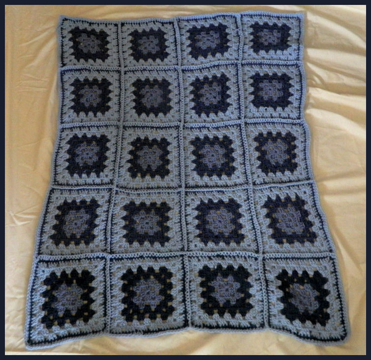 Free Crochet Patterns For The Beginner And The Advanced Blue Granny