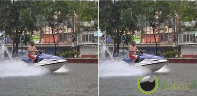 Asyik Bermain Speed Boat
