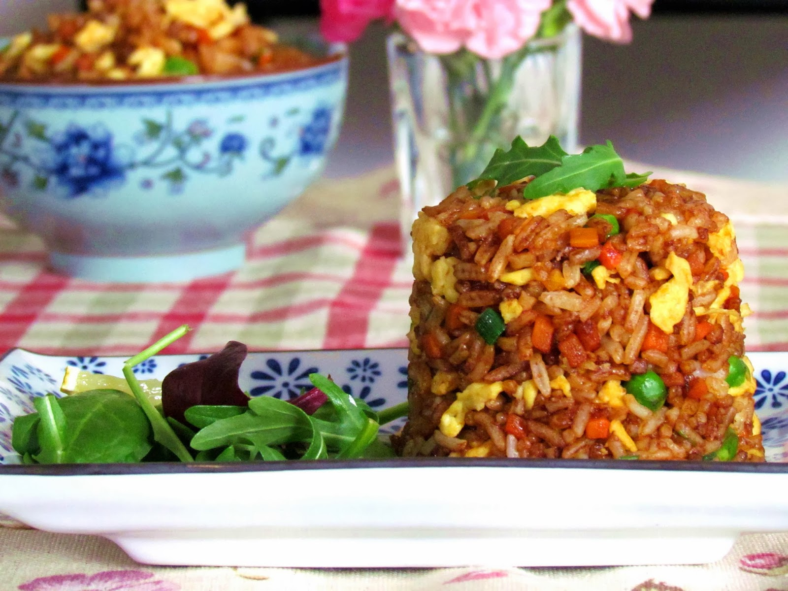 Fried rice in soy sauce ccuart Gallery