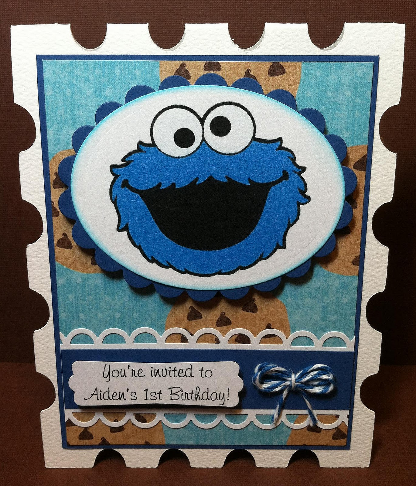 Paper Crafts by Candace Hello Kitty Cookie Monster Invitations