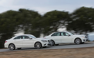 C Class is much better suited