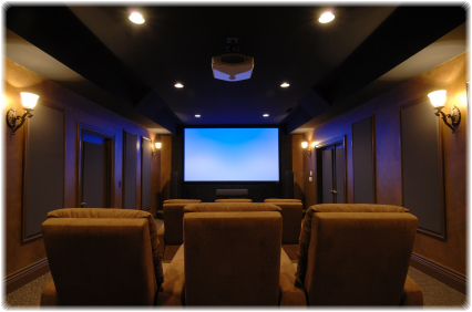 Home Theater Rooms Design