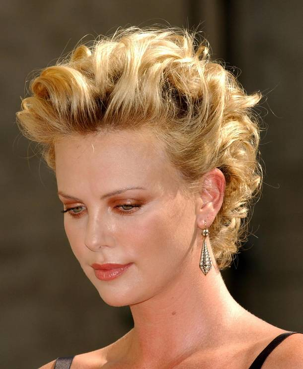 Best Photo of Charlize Theron Hairstyles | Alice Smith