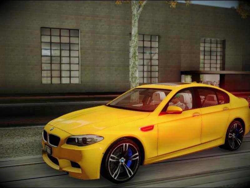 BMW F10 M5 [ImVehLm] gta sa