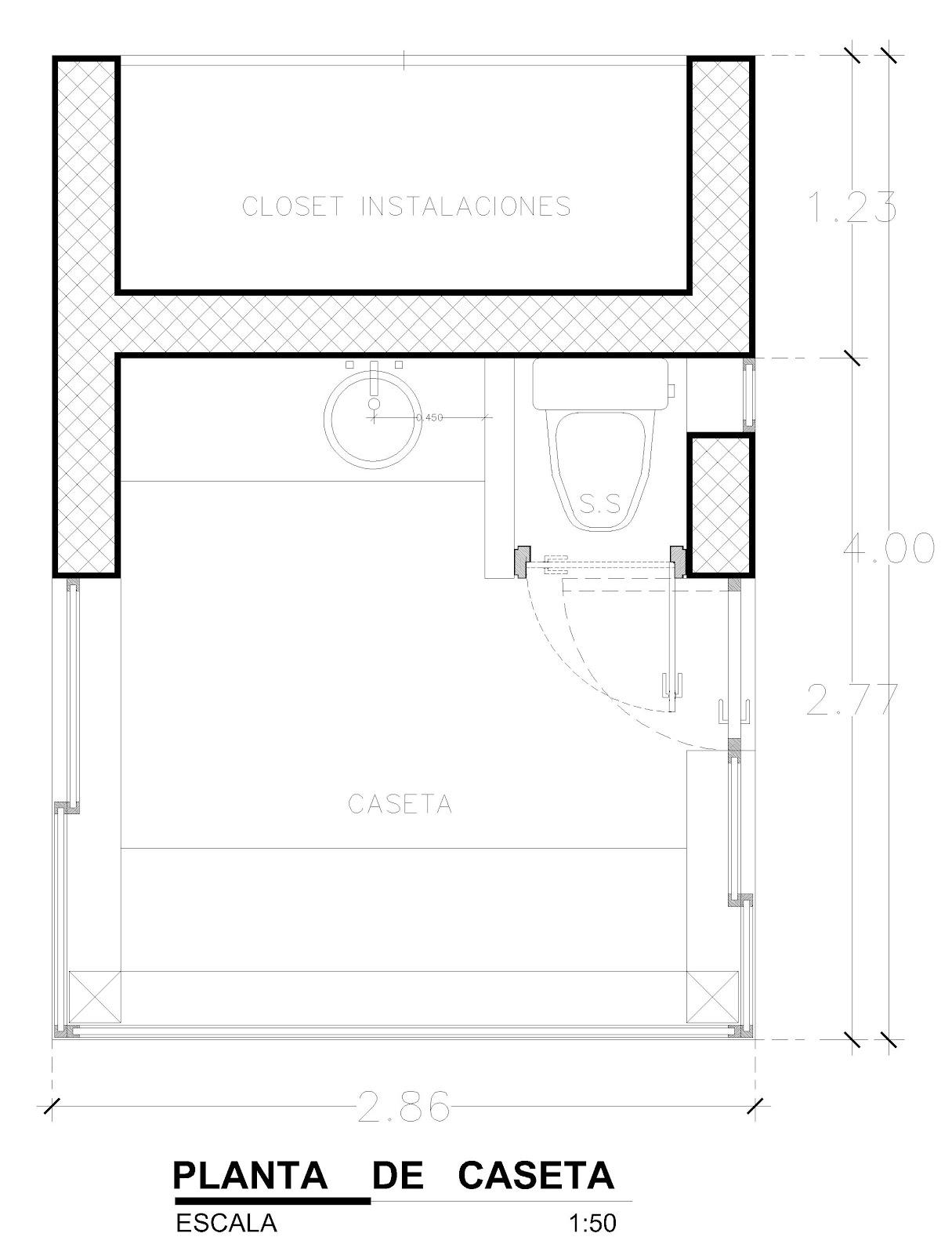 Orbed arquitectura construcci n caseta de vigilancia - Caseta de plastico para jardin ...