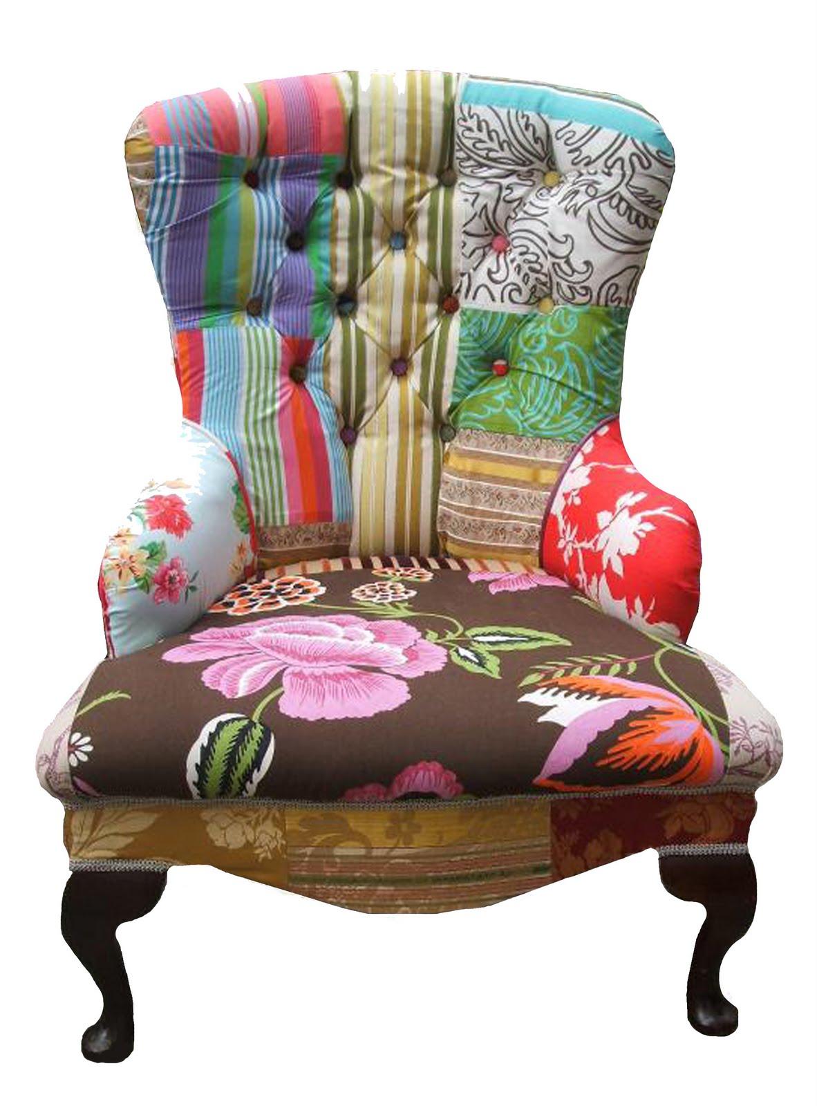 La casa de los mart nez nuevos tejidos para viejos - Telas para sillones ...