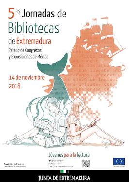 5º JORNADAS DE BIBLIOTECAS DE EXTREMADURA