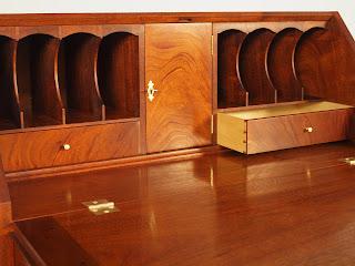 Fine Mahogany Desk handmade