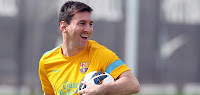 Messi back in full training on Friday