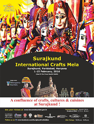 Surajkund International Crafts Mela 2016