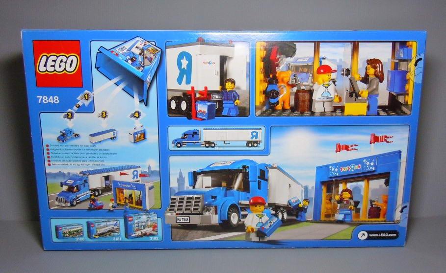 Toys R Us Legos For Girls : Onetwobrick set database lego toys r us truck