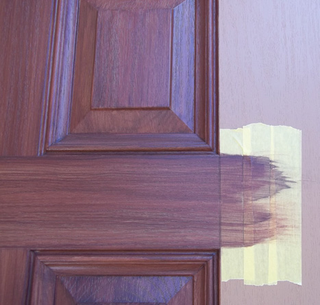 Faux Paint Entry Door To Look Like Wood Everything I
