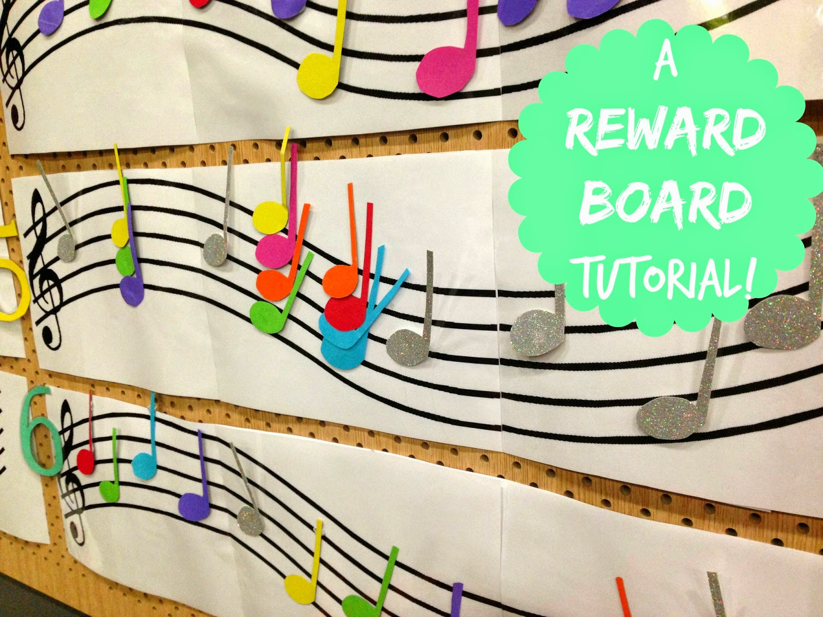 Music Classroom Decoration : Emmie loves how to make a reward board for your