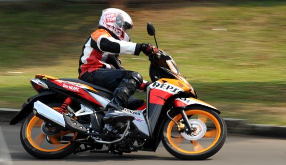Test Ride Honda New Blade 110R