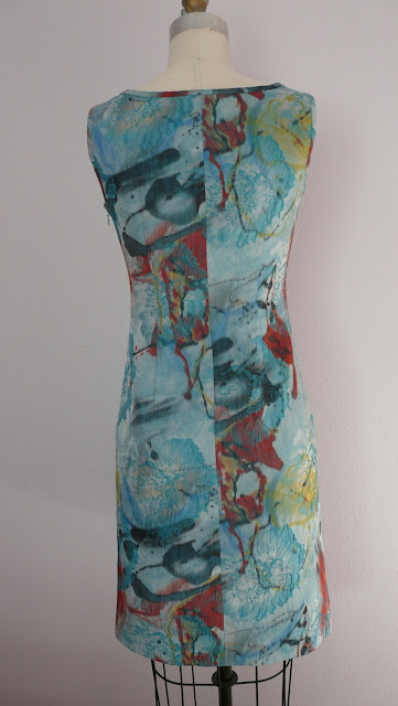 italian brocade silk dress