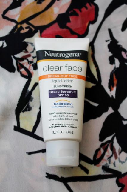 Neutrogena Clear Face Break-out Free Spf 55