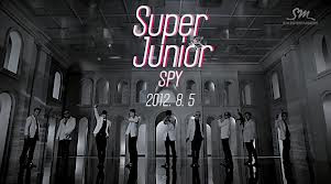 Lirik Lagu Super Junior - SPY with Eng+Indonesia Translation