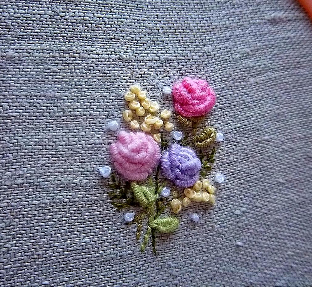 Вышивка рококо с фото 196