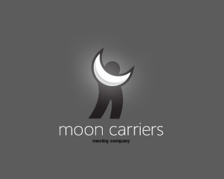 Moon Carriers Logo Design
