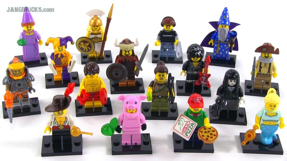 Lego series 12 minifigures