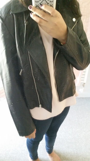 Primark Black Leather Jacket