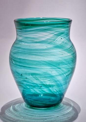 Streaky 'Bronze Age' Vase pat. 1258