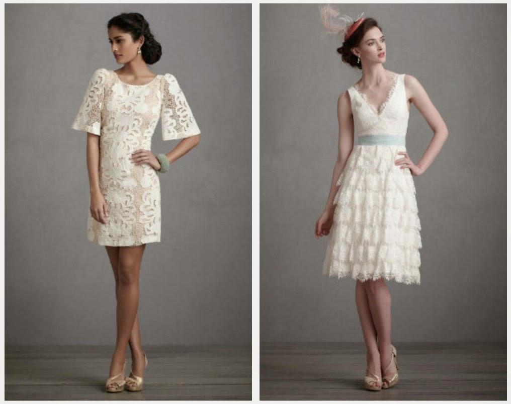 Modern Short Wedding Dresses Design Concept Photos HD