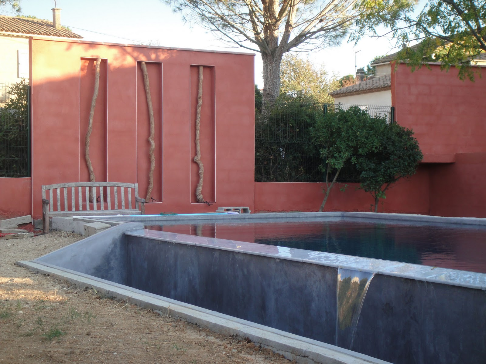Terrasses ip et hydrocapt construction piscine diffazur for Construction piscine diffazur