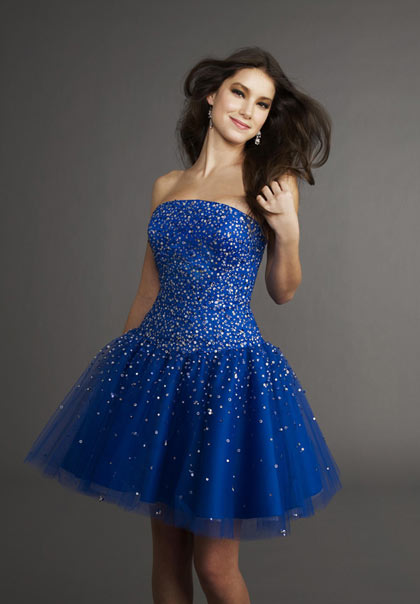 Short Hair Prom Dresses
