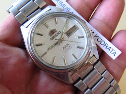 ORIENT WHITE SILVER DIAL - AUTOMATIC