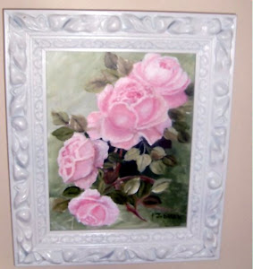 Rose Medley Original Painting on Canvas