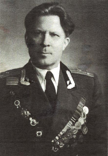 Pierwszy komendant wojenny miasta Końskie pułkownik Michaił Josifowicz Malowanyj.