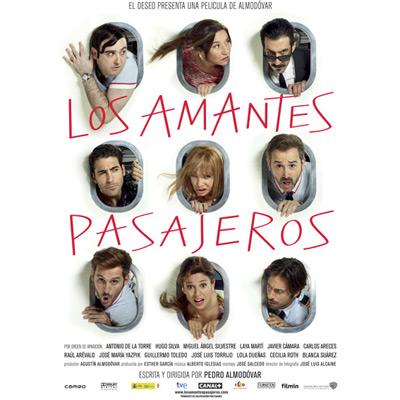 Los amantes pasajeros película Almodóvar reparto actores